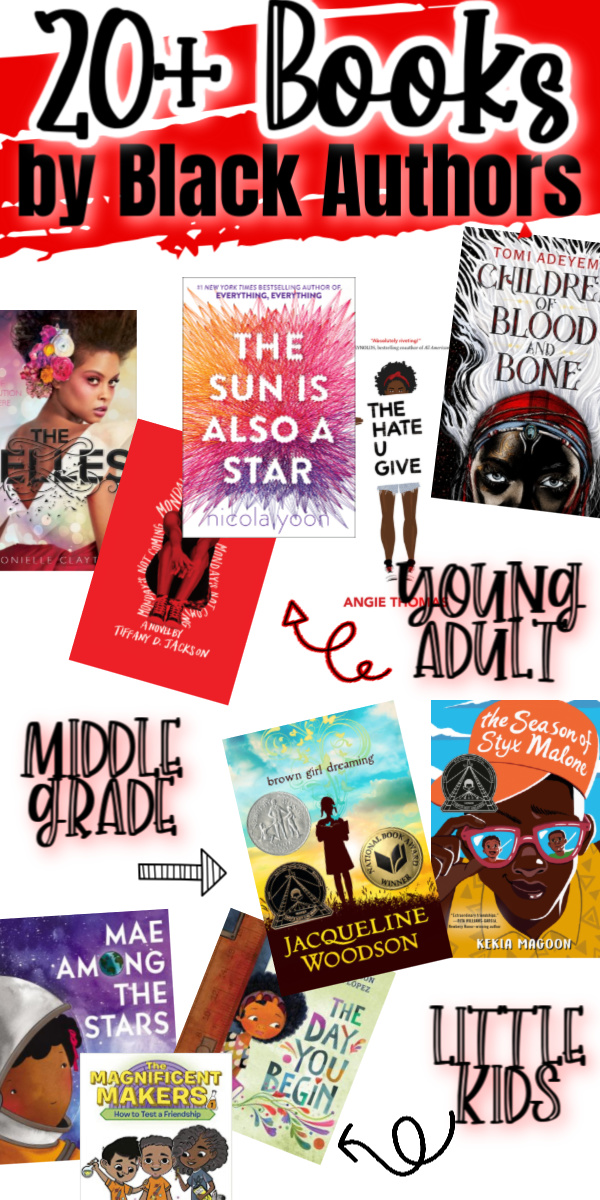 Giant list of children's books by black authors. Everything from picture books, middle grade and even young adult fiction. Black Lives matter. via @raegun