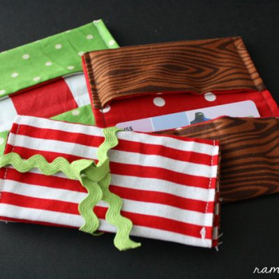 10 Minute Gift Card Holder Tutorial