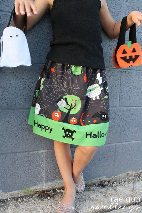 Halloween Skirt Tutorial 680s