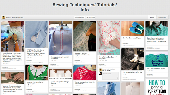 Learn to sew better with a bunch of sewing tips and techniques