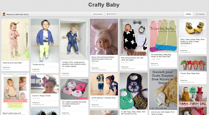 Great list of craft ideas for babies