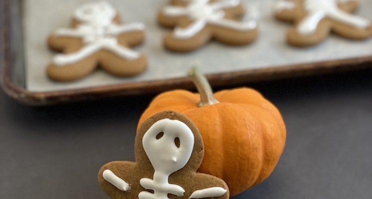 Halloween Cookie Recipe Skeleton Gingerbread