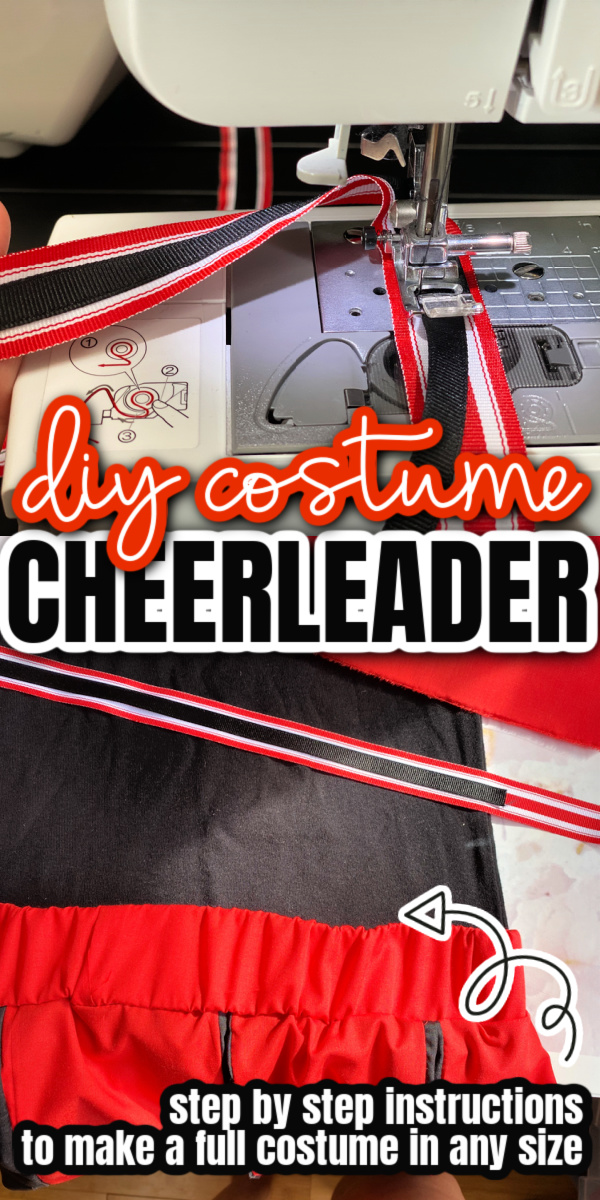 How to make a zombie cheerleader costume complete with face mask (can also be used for regular cheerleader costume)